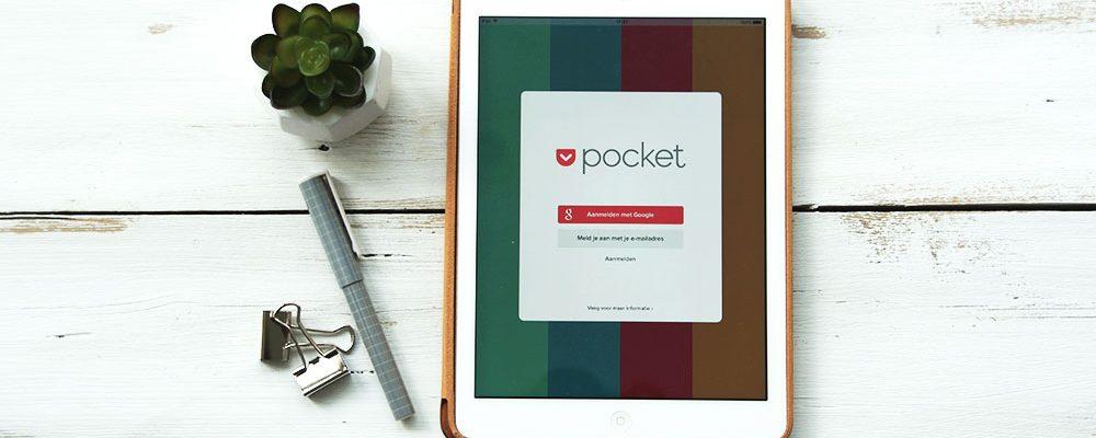 Pocket app: nooit meer iets kwijt op internet